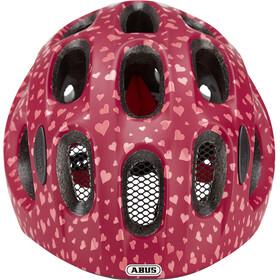 ABUS Youn-I Helmet Barn cherry heart